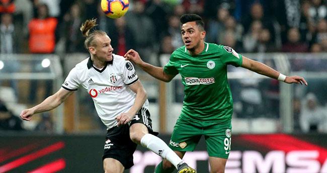 Konyaspor Beşiktaş'a iç sahada kaybetmiyor