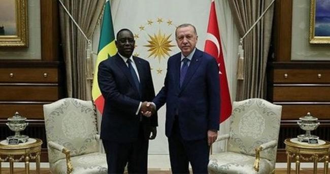 Başkan Erdoğan, Senegal Cumhurbaşkanı Sall ile görüştü