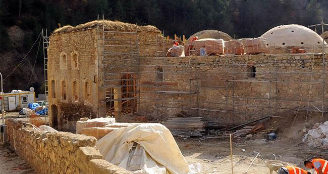Konya'da bulunan tescilli Yukarı Hamam restore ediliyor