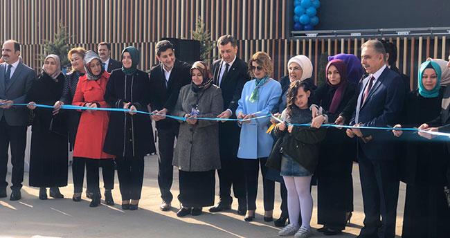 Emine Erdoğan, Konya'da Selçuklu Otizmli Bireyler Eğitim Merkezini açtı