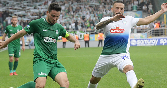 Konyaspor 13. hafta maçında deplasmanda Ç. Rizespor ile karşılaşacak