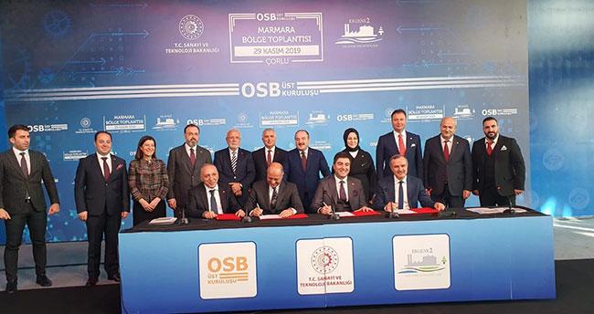 Konya ve Erzurum Organize Sanayi Bölgeleri 'Kardeş OSB' protokolü imzaladı
