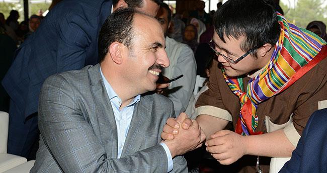 "Başkan Altay: ""Sevgi varsa engel yoktur"""