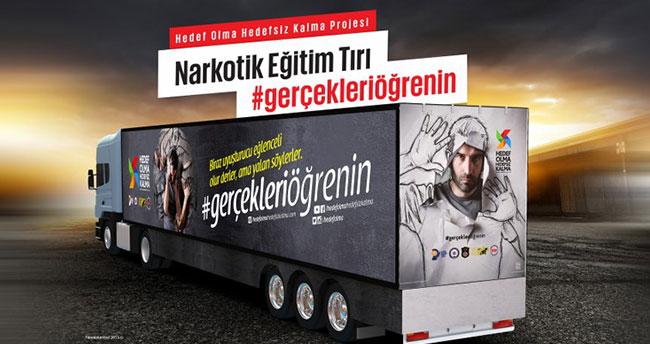 'Narkotik Eğitim TIR'ı 4 Aralık'ta Konya'da