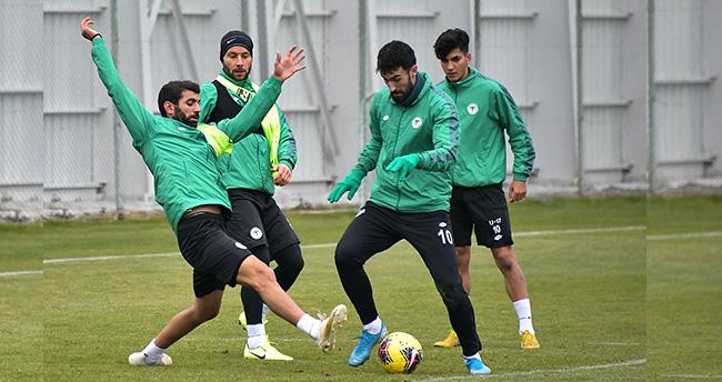 Konyaspor'da, Gaziantep Futbol Kulübü maçı hazırlıkları başladı