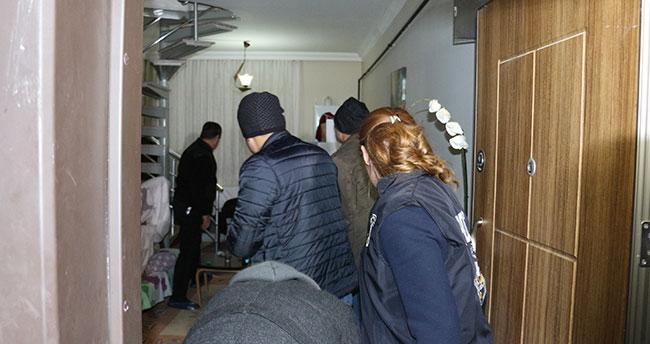 Konya'da 6 adrese eş zamanlı fuhuş operasyonu: 5 gözaltı