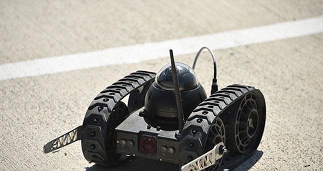 İnsansız kara aracının ilk görüntüleri