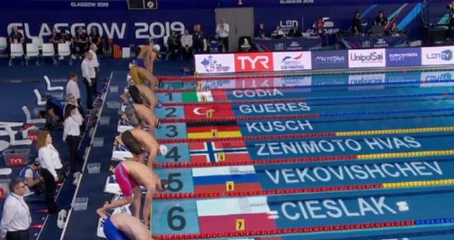 Milli yüzücü Ümitcan Güreş'ten gururlandıran başarı!