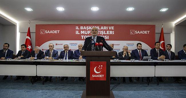 Saadet Partisi İl Başkanları ve İl Müfettişleri toplantısı yapıldı