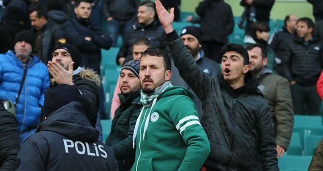 Konyaspor'un galibiyet hasreti 7 maça çıktı! Bajic ıslıklandı
