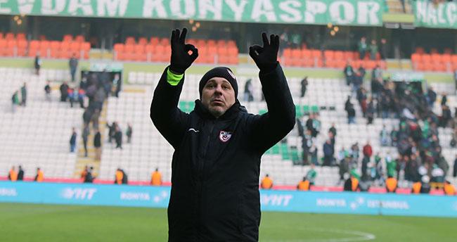 Gaziantep SK teknik direktöründen Konya'da hadsiz hareket!