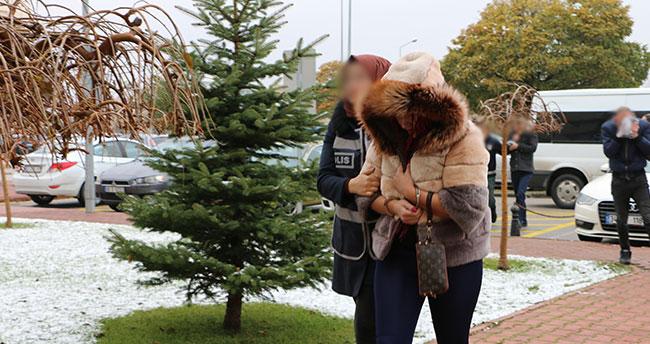 Konya'daki fuhuş operasyonu şüphelileri adliyede