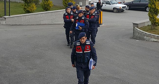 Karaman'da hırsızlık şüphelisi 1'i kadın 4 kişi tutuklandı
