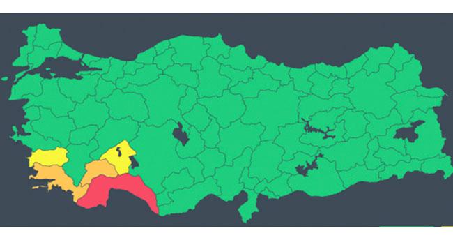 Antalya için 'kırmızı kod' alarmı! 'Çok tehlikeli meteorolojik hadise bekleniyor'