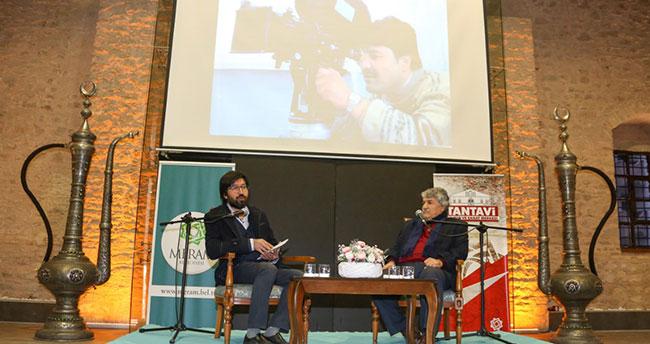Ünlü yönetmen Mesut Uçakan Konya'da sinamaseverlerle buluştu
