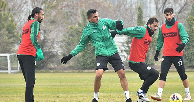 Konyaspor'da Başakşehir hazırlığı