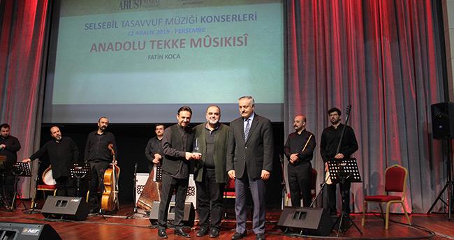 Fatih Koca, Konya'da konser verdi
