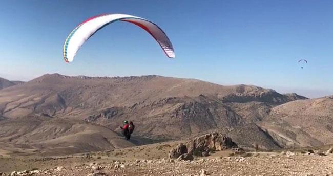 Halkapınar yamaç paraşütü sporu tutkunlarının uğrak yeri olacak