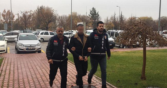 Konya'da sokak ortasında vatandaşı vuran şüpheli yakalandı