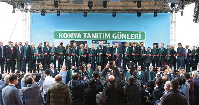 5. Konya Tanıtım Günleri İstanbul Yenikapı'da başladı