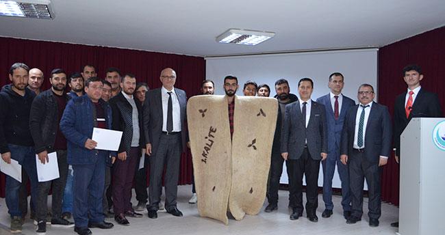 Konya Ilgın'da 21 kursiyer kepenek giydi