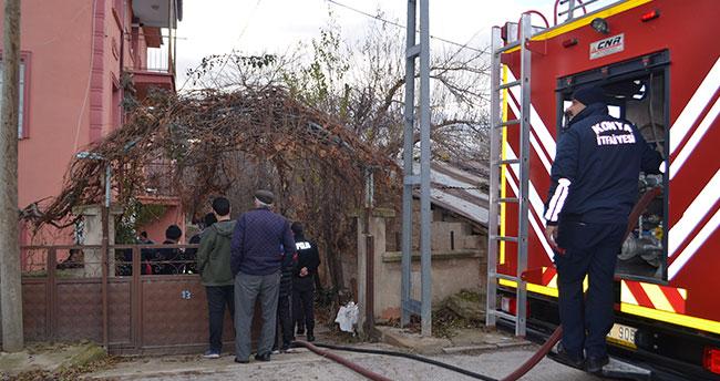 Konya Ilgın'da ev yangın çıktı: 4 yaralı