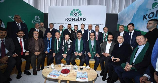 Konya Büyükşehir Belediye Başkanı Altay KONSİAD Fuarı'nda