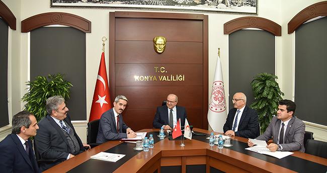 """Konya'da """"Okulumda Kan'panya Var"""" işbirliği protokolü imzalandı"""