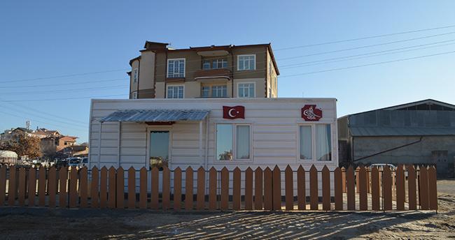 Konya'da örnek proje! Belediye kimsesizler için prefabrik konut yapacak