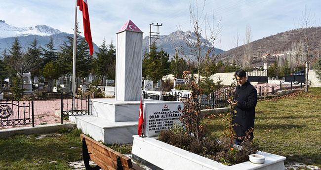 Seydişehir'de Fırat Kalkanı Harekatı şehidi anıldı
