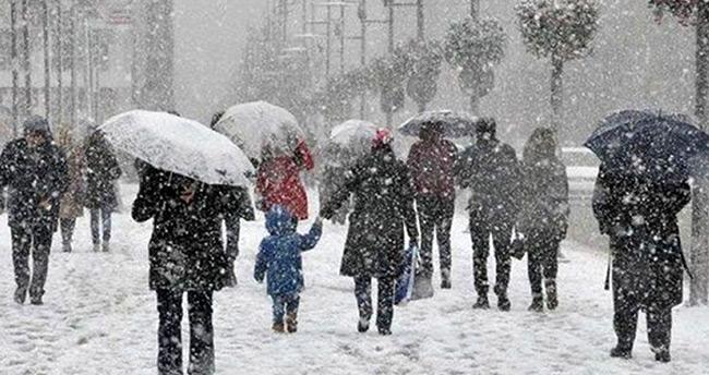 Art arda uyarı yapılmıştı: Kar yağışı geliyor!