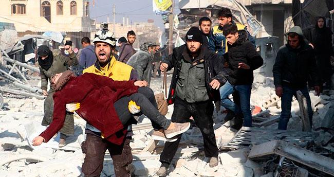 Esed rejiminden İdlib'e yoğun hava saldırıları: 8 ölü, 20 yaralı