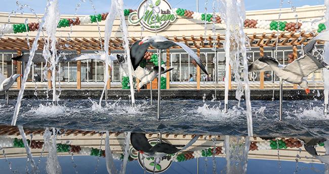 Yenice Parkı ve Yenice Parkı Kafe Meram hizmete başladı