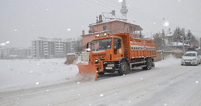 Karatay Belediyesi kışa hazır