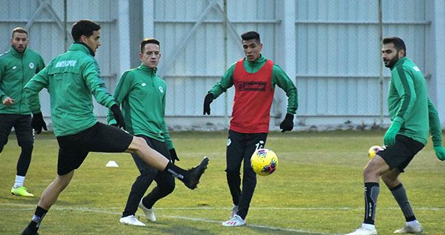 Konyaspor, Alanyaspor maçı hazırlıklarına başladı