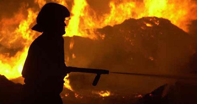 Konya'da ev yangını: 1 yaralı
