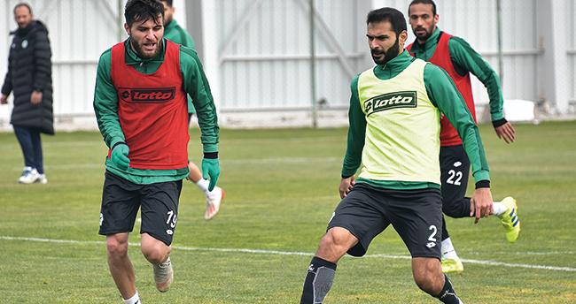 Konyaspor'da Alanya hazırlığı