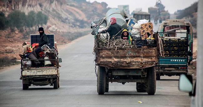 İdlib'den Türkiye'ye 3 günde 47 bin sivil daha