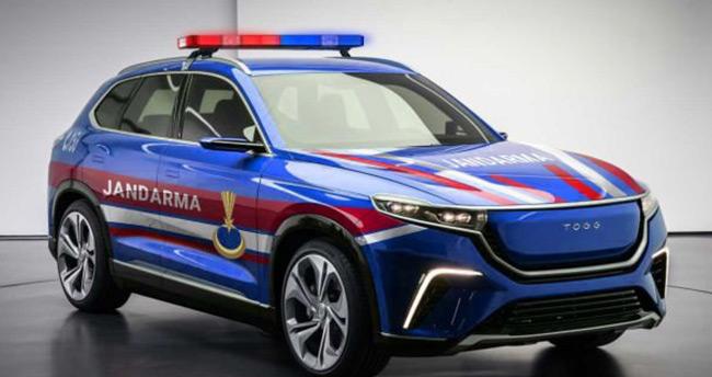 Jandarma'dan yerli otomobil paylaşımı