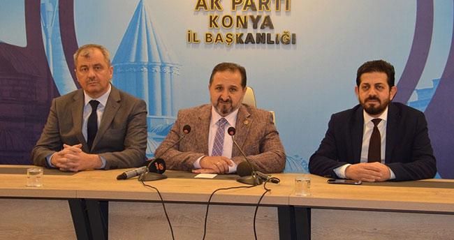 """AK Parti Konya Milletvekili Özdemir: """"2020 yılına da büyük umutlarla giriyoruz"""""""