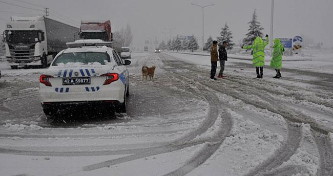 Konya'da bu yolu kullanacaklar dikkat! Seydişehir-Antalya karayolunda zincirsiz araçların geçişine izin verilmiyor