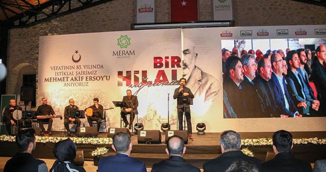 Meram Belediyesinden milli şair Mehmet Akif'i anma programı