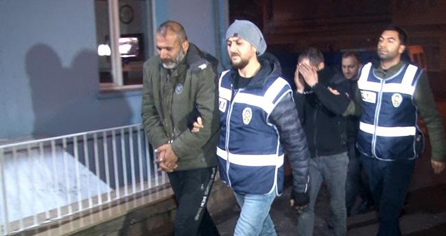 Konya'da girdikleri evde polise yakalanınca uyumak için geldik diyen 2 şüpheli tutuklandı