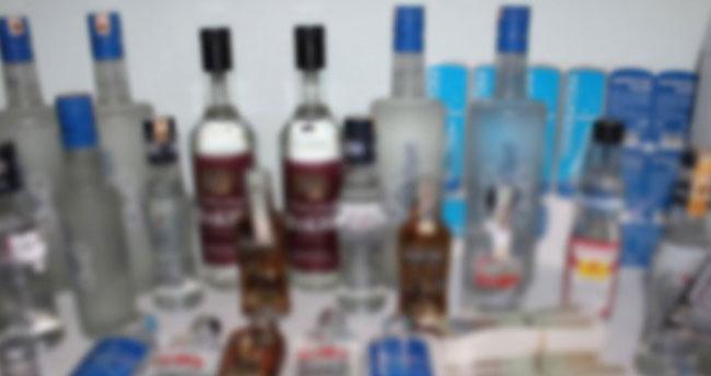 Konya'da sahte içki denetimi: 13 şişe…
