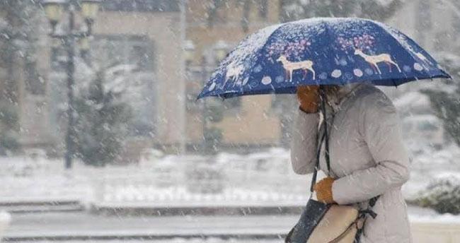 Akşam saatlerine dikkat! Konya'da karla karışık yağmur bekleniyor!