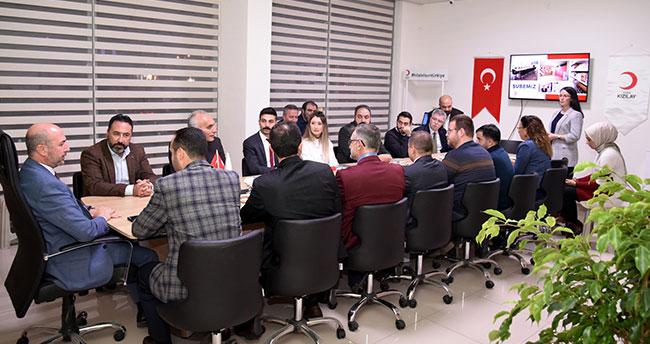 Başkan Pekyatırmacı'dan Türk Kızılayı Selçuklu Şubesine ziyaret