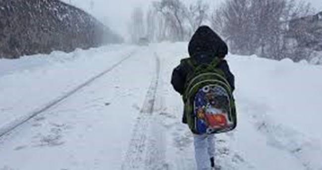 Hadim'de eğitime kar engeli