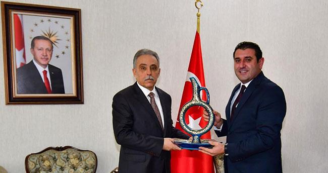 Konya Valisi Orhan Toprak'a ziyaretler