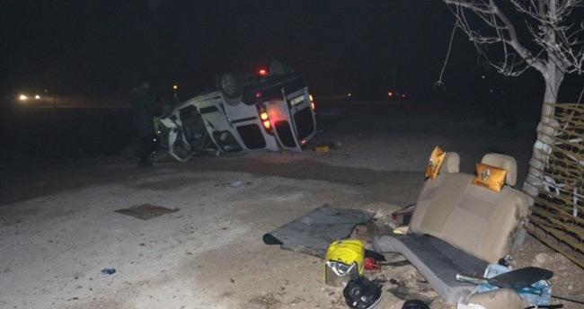 Konya'da takla atan araçtaki yaralılardan 2'si daha öldü