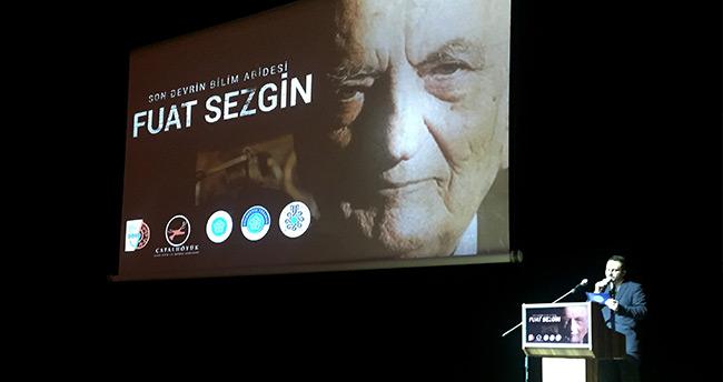 """""""Son Devrin Bilim Abidesi Fuat Sezgin"""" belgeselinin galası Konya'da yapıldı"""